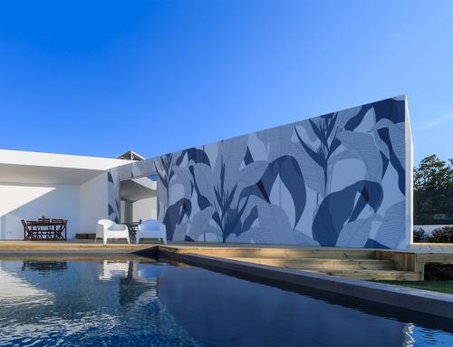 Papiers peints Extérieur, les façades prennent des couleurs !