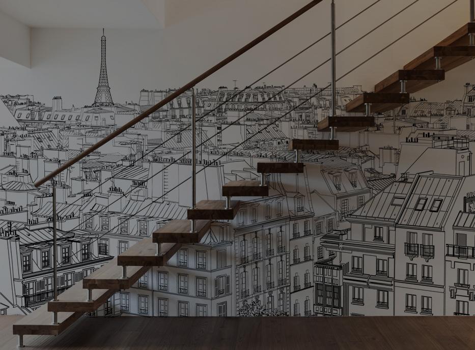 Papier peint Paris - Acte Deco