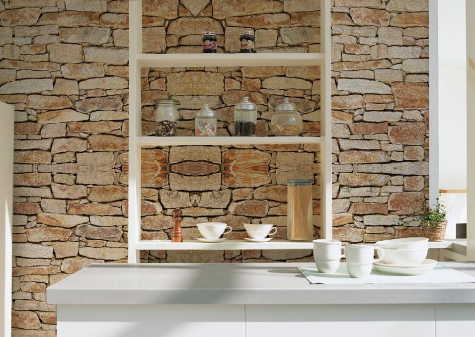 rev tements muraux effet pierre une solution rapide et conomique pour d corer vos murs. Black Bedroom Furniture Sets. Home Design Ideas