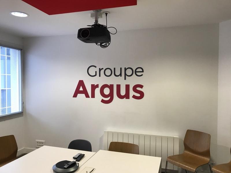 Signalétique groupe argus