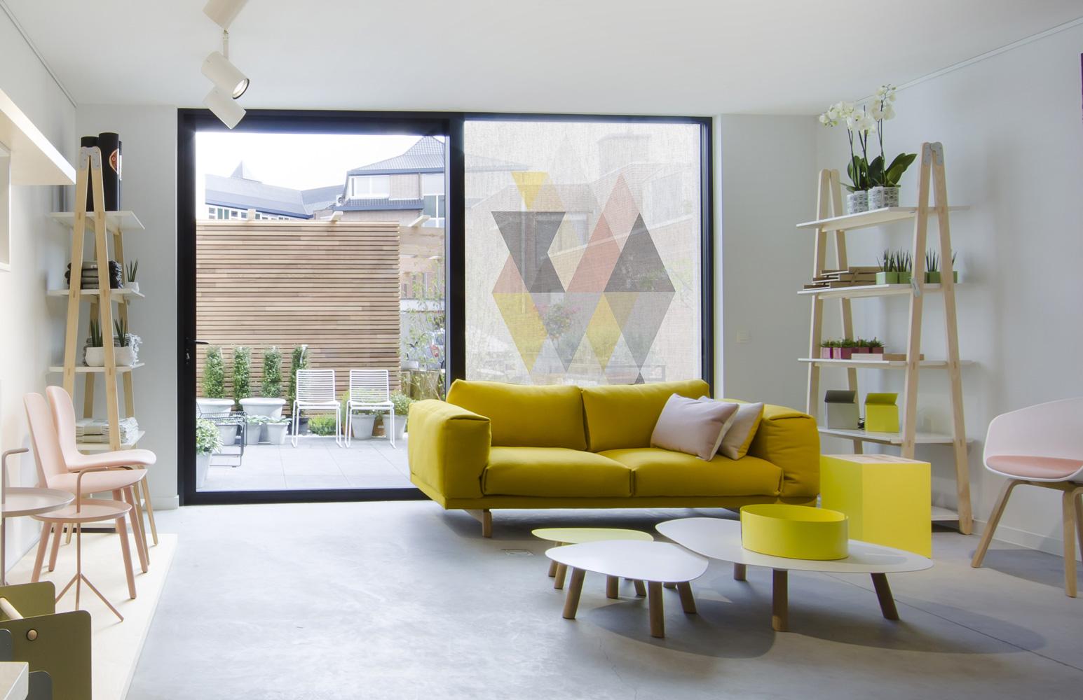 squid le tissu adh sif imprimable pour vitres acte deco. Black Bedroom Furniture Sets. Home Design Ideas