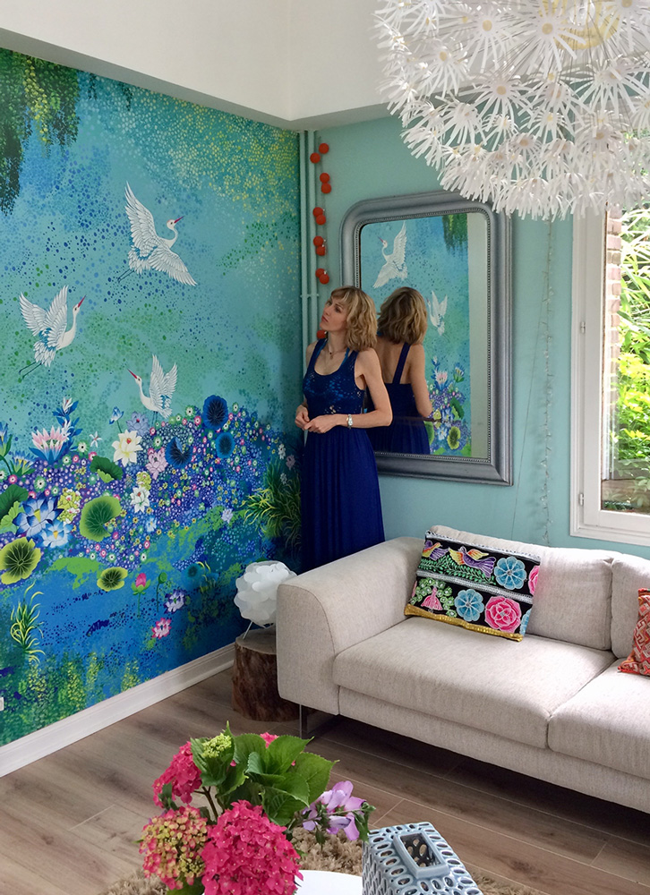 cr ation artistique artwork peggy nille acte deco. Black Bedroom Furniture Sets. Home Design Ideas