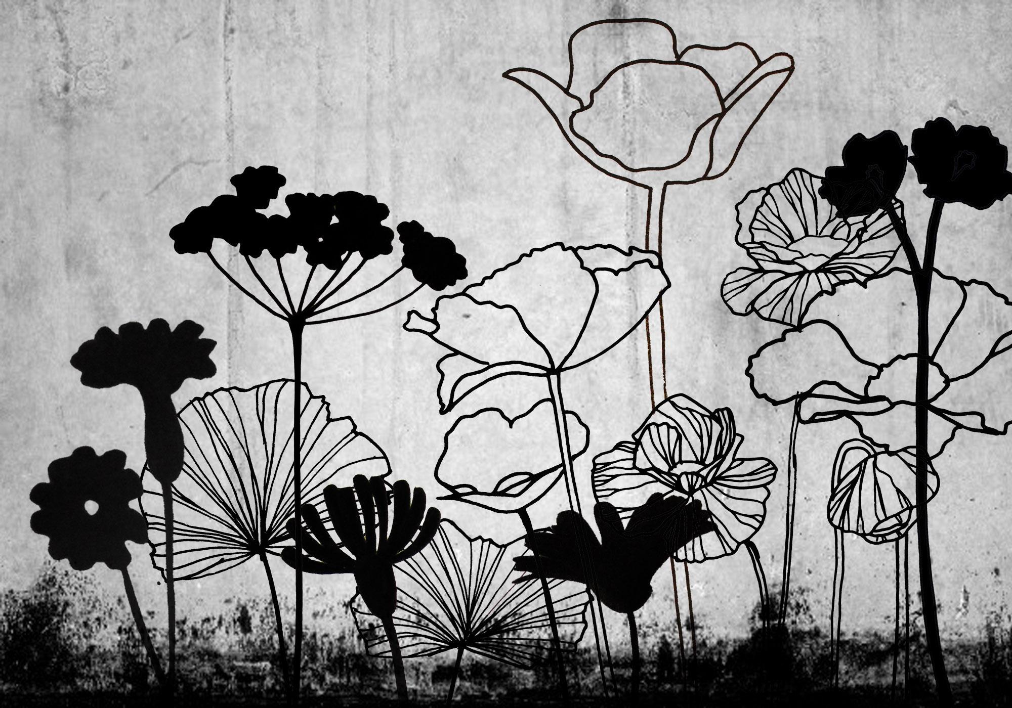 fleur beton