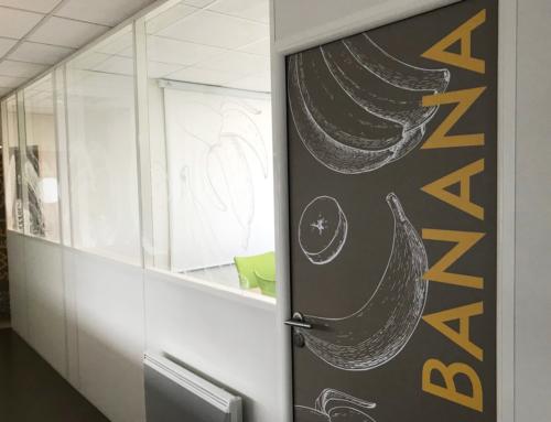 Décoration des bureaux Diana Food à Rennes