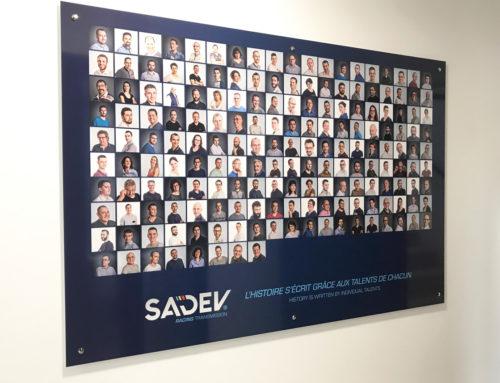Décoration des bureaux et ateliers SADEV