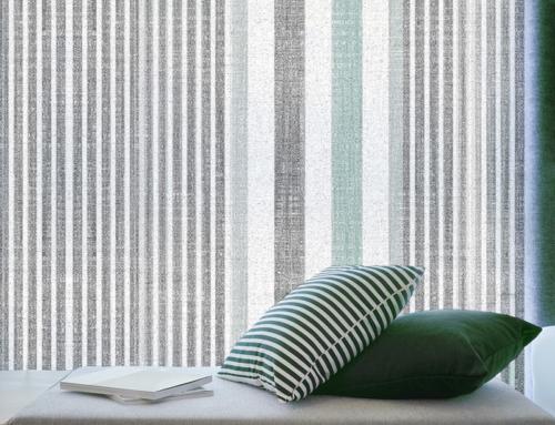 Tissus pour vitrage Squid – Nouvelle collection Linen Stipes