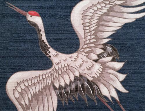 Papergraphics, des papiers peints texturés et métallisés haut de gamme