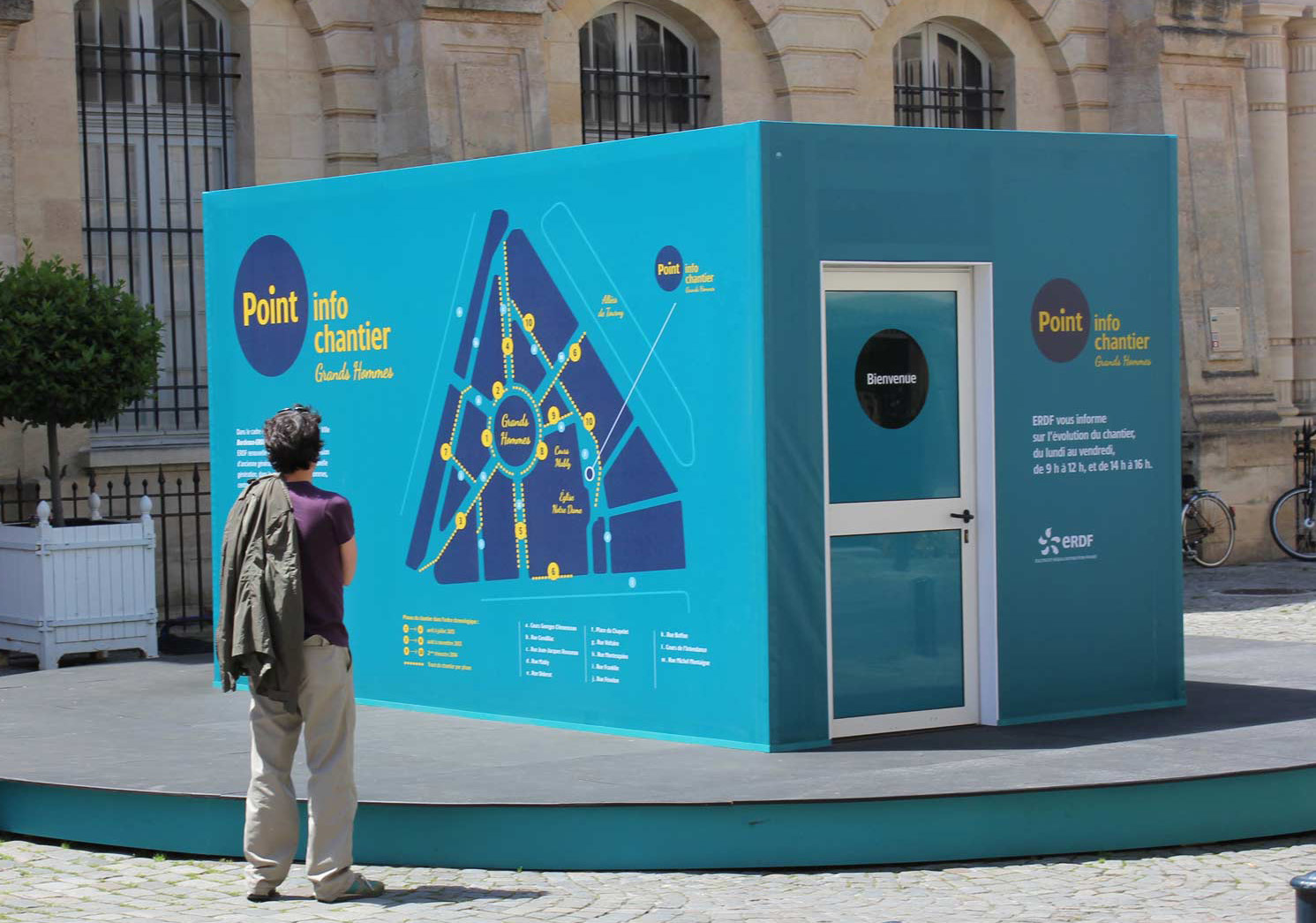 ERDF / Point info - Bordeaux / MJ Studio