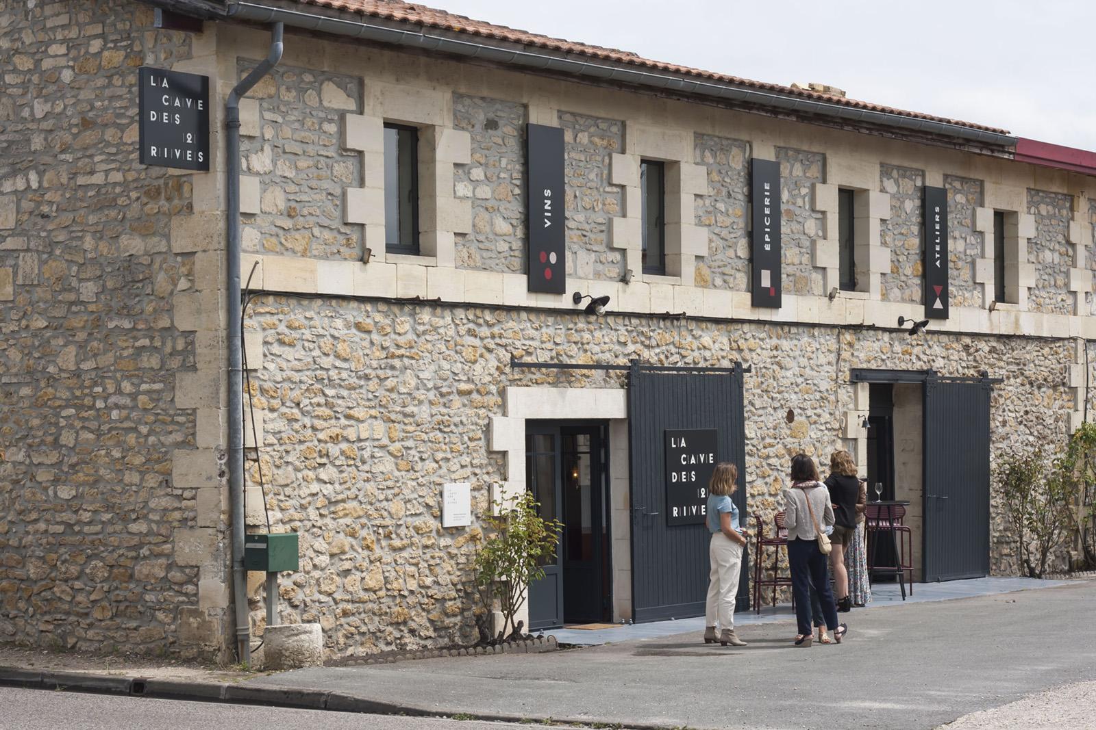Vignobles Clément Fayat / Cave des 2 rives, Médoc / MJ Studio