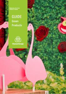 Guide GREEN PRODUCTS à télécharger