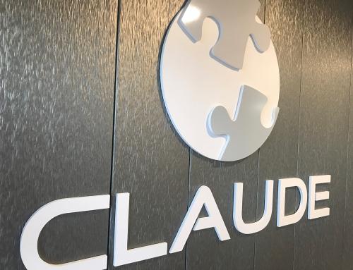 Signalétique 3D pour l'Etablissement Claude à Ancenis